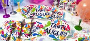 coordinato festa compleanno big party colorato